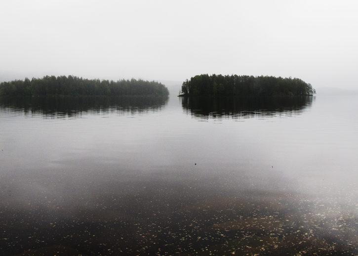 dalarna, Sverige, sjö, ö