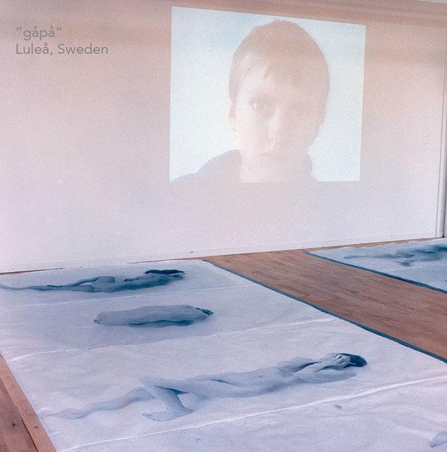 såpa, utställning, Luleå, Norrbotten, Sverige, installation, fotografi, konst