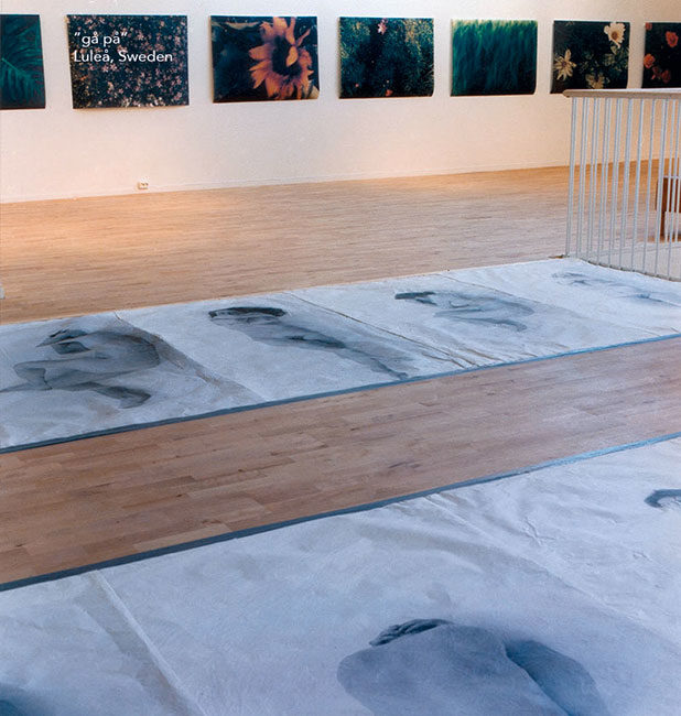 gåpå, Luleå , Norrbotten, Sverige, utställning, installation, fotografi, konst