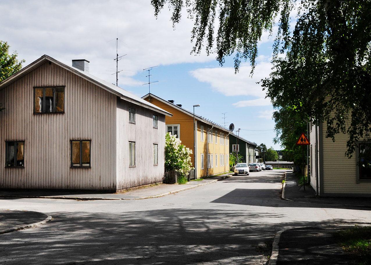 Arbetarbostäder i Svartöstan, Luleå